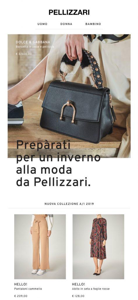 cac83ba6326f Negozi Pellizzari e-commerce - scopri il progetto di Notorious Agency