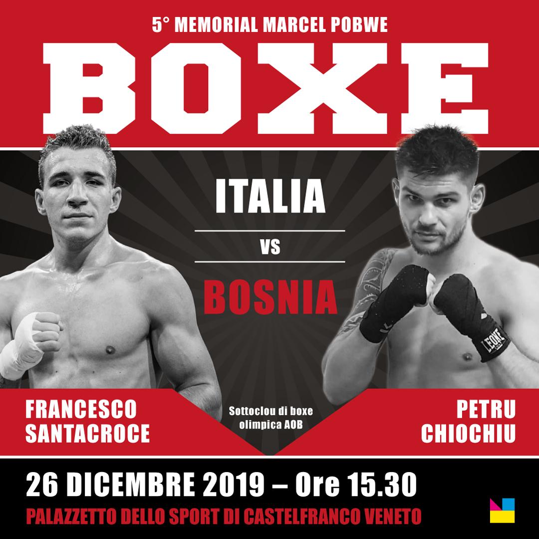 Appuntamento con la Boxe il 26 dicembre a Castelfranco Veneto